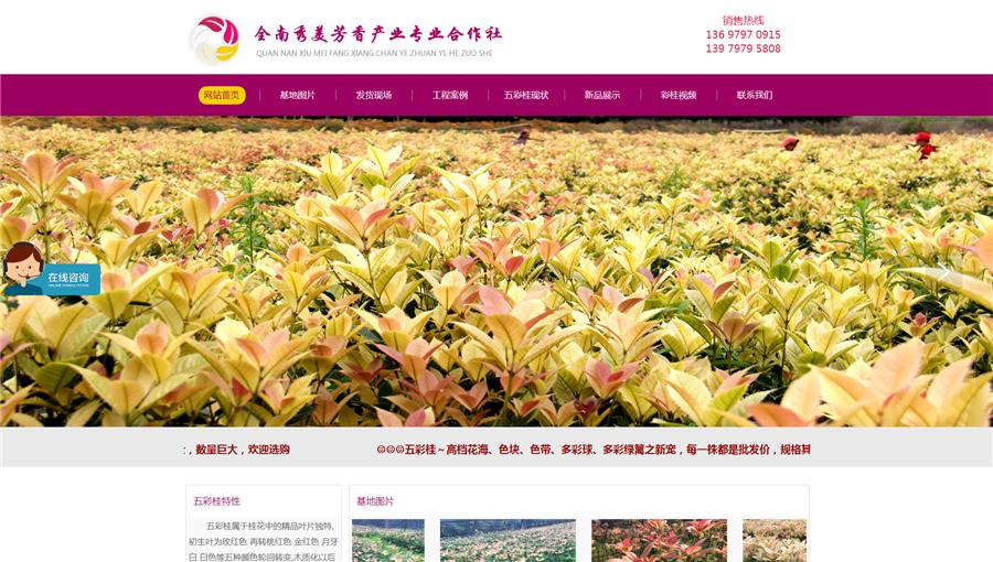 江西赣州园林绿化生产行业网站建设案例.jpg